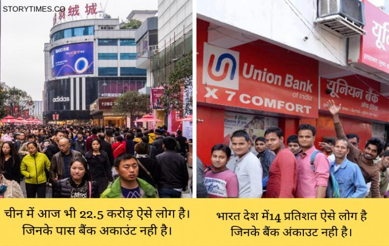 10 देश जहां करोड़ों लोगो के नहीं है बैंक अकाउंट | 10 Countries Crore of People do not Bank Accounts