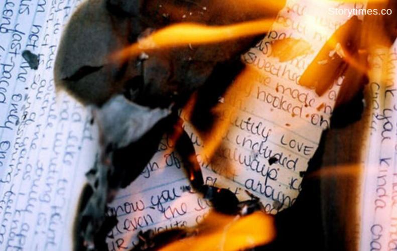जला रही थी एक्स बॉयफ्रेंड  के प्रेम पत्र जल गया अपार्टमेंट | Woman was Burning Love letter but Burnt