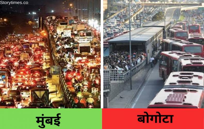 यह लिस्ट है दुनिया के सबसे ज्यादा ट्रैफिक वाले शहरो की   Highest Traffic in World List In Hindi