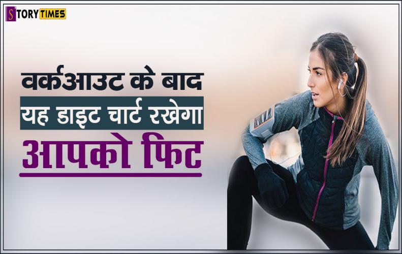 वर्कआउट के बाद यह डाइट चार्ट रखेगा आपको फिट | Best Workout Diet Food In Hindi